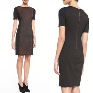 Elie Tahari Kylie Short-Sleeve Dress